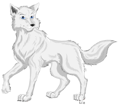 slyly_the_arctic_wolf_by_starlightsmarti-d5vi3fn